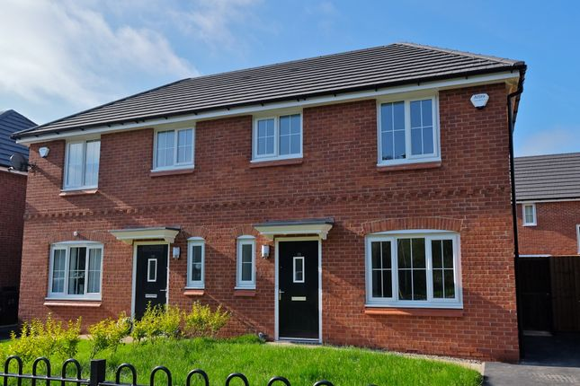 Thumbnail Semi-detached house to rent in Ellesmere Oleander Way, Liverpool