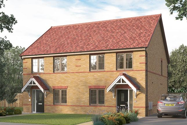 """Thumbnail Semi-detached house for sale in """"The Lorton """" at Ward Road, Clipstone Village, Mansfield"""