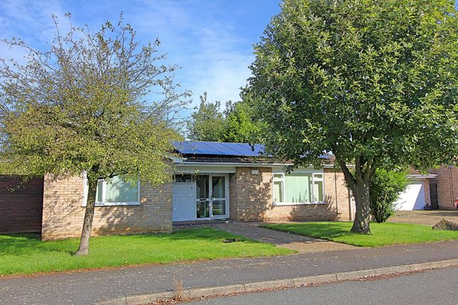 Thumbnail Detached bungalow for sale in Uppingham Close, Evington, Leicester