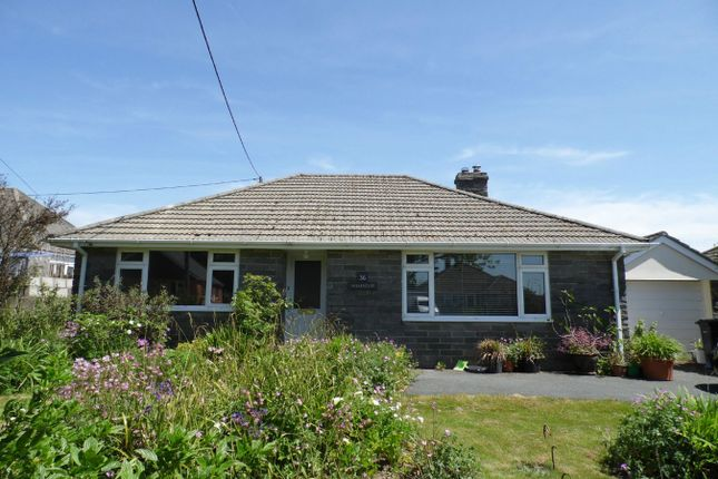 Thumbnail Detached bungalow to rent in Edgcumbe Road, Roche, St Austell, Cornwall