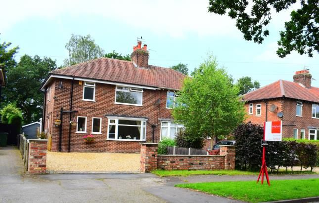 Thumbnail Semi-detached house for sale in Bridle Road, Woodford, Stockport, Greater Manchester