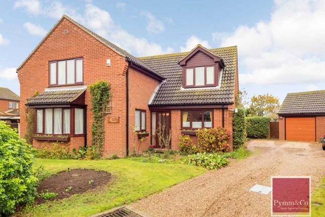 Thumbnail Detached house for sale in The Loke, Freethorpe, Norwich
