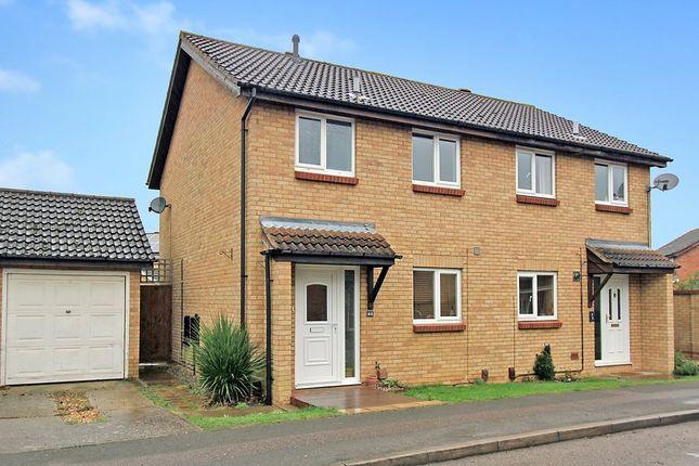 Thumbnail Semi-detached house for sale in Balland Field, Willingham, Cambridge