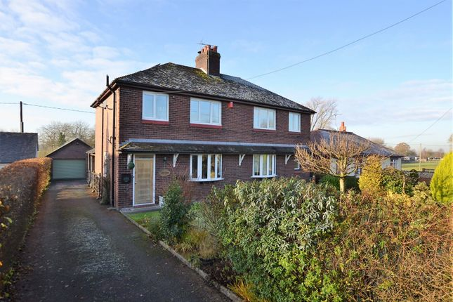 Thumbnail Detached house for sale in Newcastle Road, Smallwood, Sandbach