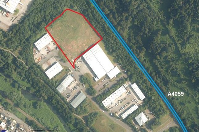 Thumbnail Land for sale in Site, Cwm Cynon Business Park, Mountain Ash