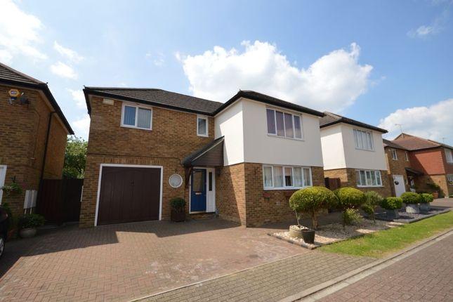 Thumbnail Detached house to rent in Hilton Close, Stevenage