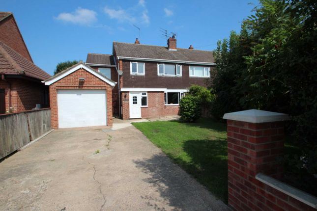Thumbnail Semi-detached house for sale in New Road, Acle, Norwich