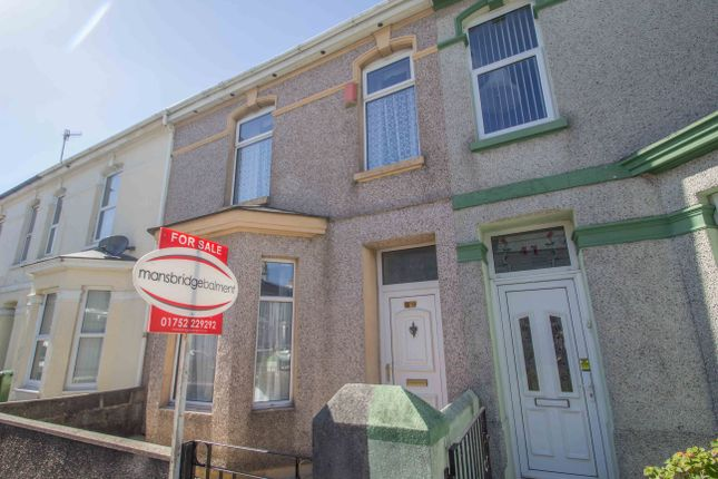 Thumbnail Terraced house for sale in Cromwell Road, Plymouth