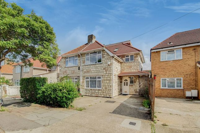 Thumbnail Semi-detached house to rent in Granville Avenue, Hounslow