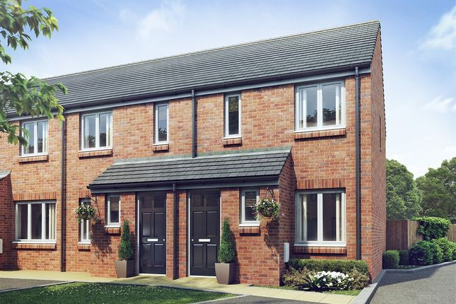 "Thumbnail Terraced house for sale in ""The Alnwick "" at Olton Boulevard West, Tyseley, Birmingham"