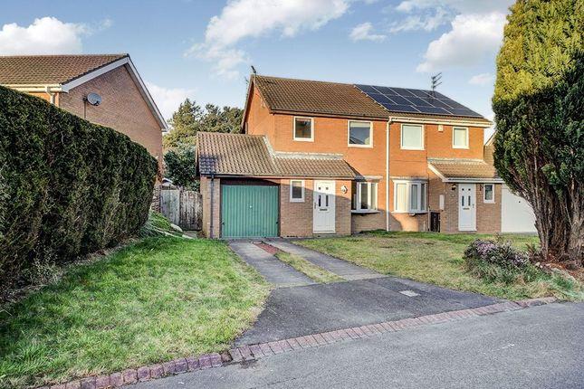 Thumbnail Semi-detached house for sale in Ilford Avenue, Cramlington