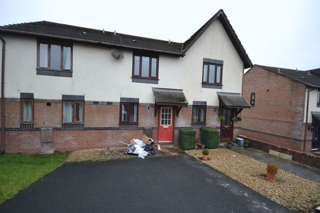 Thumbnail Terraced house to rent in Coed Y Plas, Johnstown, Carmarthen
