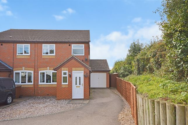 Thumbnail Semi-detached house for sale in Churchill Road, Earls Barton, Northampton