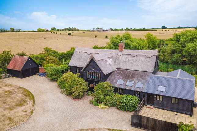 Thumbnail Barn conversion for sale in Colchester Road, Great Wigborough, Colchester
