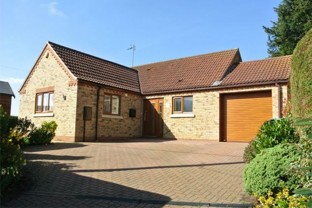 Thumbnail Detached bungalow for sale in High Street, Rippingale, Bourne, Lincolnshire