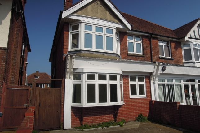 Thumbnail Semi-detached house for sale in St James Road, Upper Shirley