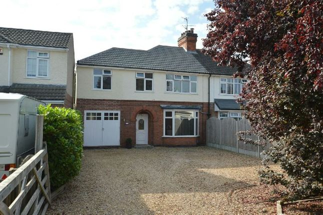 Thumbnail Semi-detached house for sale in Little Glen Road, Glen Parva, Leicester
