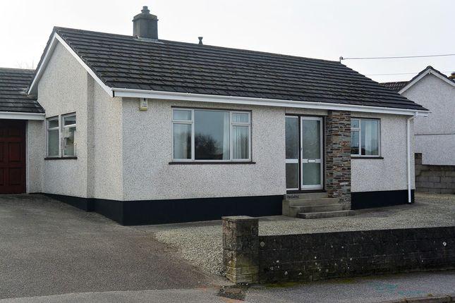 Thumbnail Detached bungalow to rent in Crellow Lane, Stithians, Truro
