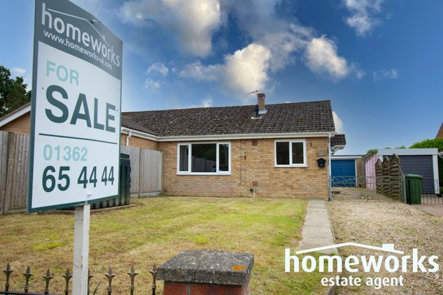 2 bed semi-detached bungalow for sale in Dereham Road, Mattishall NR20