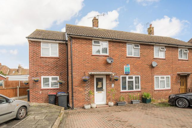 Thumbnail Semi-detached house for sale in New Street, Wincheap, Canterbury