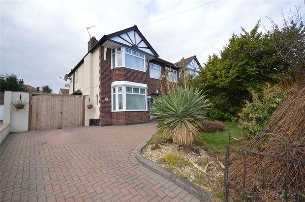 Thumbnail Semi-detached house for sale in Kings Road, Higher Bebington, Merseyside