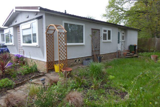 Thumbnail Mobile/park home for sale in Cudworth Park, Burnt Oak Lane, Newdigate, Dorking, Surrey