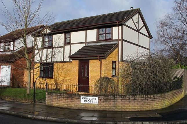Thumbnail Detached house for sale in Convent Close, Cressington, Liverpool