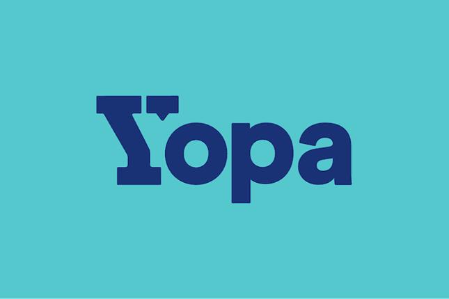 Yopa Sign of Ilchester Road, Llanrumney, Cardiff CF3