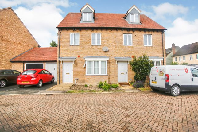 Thumbnail Semi-detached house for sale in Lower Cambourne, Cambridge, Cambridgeshire