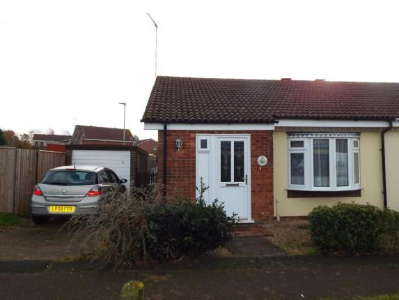 Thumbnail Bungalow for sale in Churchill Park, Kings Lynn, Norfolk