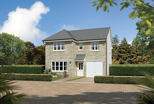 "Thumbnail Detached house for sale in ""Dukeswood"" at Troon"