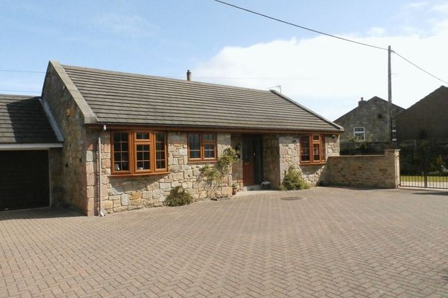 Thumbnail Detached bungalow for sale in High Hauxley, Morpeth