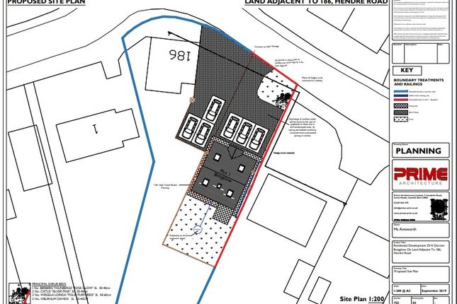 Siteplan1 of Hendre Road, Capel Hendre, Ammanford SA18