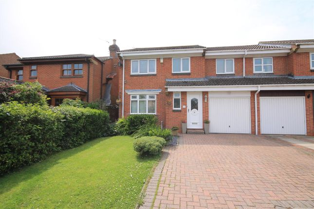 Thumbnail Semi-detached house for sale in Beckett Close, Etherley Dene, Bishop Auckland