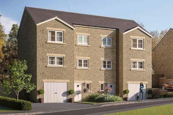 Thumbnail Semi-detached house for sale in Earnshaw Clough, Mossley, Ashton-Under-Lyne