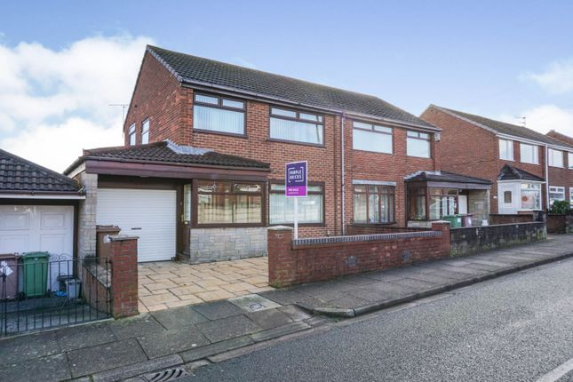 3 bed semi-detached house for sale in Peebles Avenue, St. Helens WA11