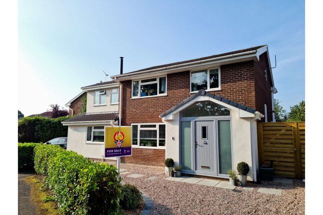 Thumbnail Detached house for sale in Covert Rise, Tattenhall, Chester