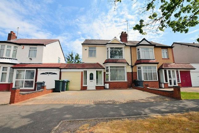 Thumbnail Semi-detached house for sale in Albert Road, Oldbury