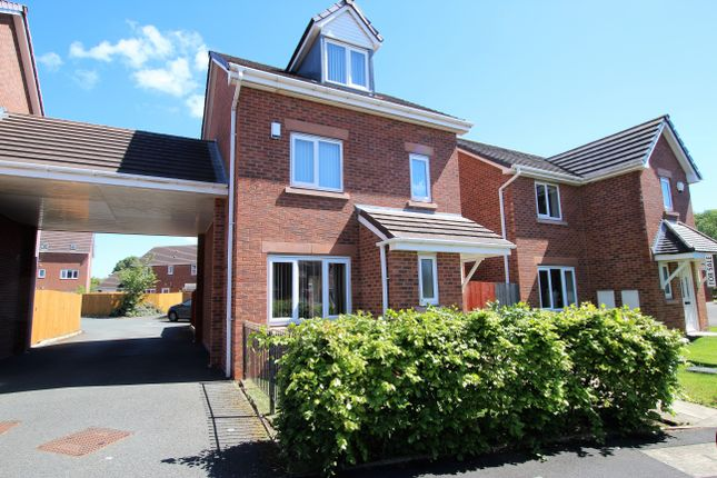Thumbnail Link-detached house to rent in Covington Drive, St Helens, Merseyside