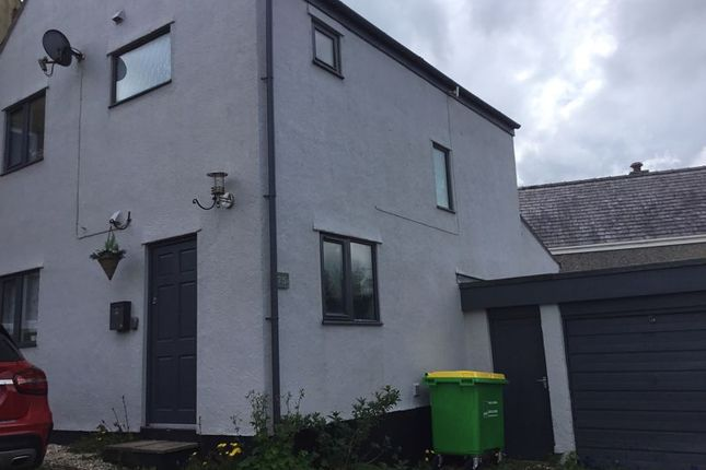 Thumbnail Detached house for sale in Caeau Gleision, Rhiwlas, Bangor
