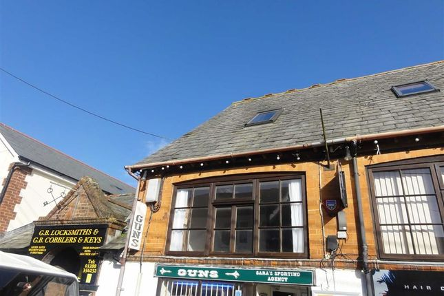 Thumbnail Flat to rent in Belle Vue, Bude, Cornwall