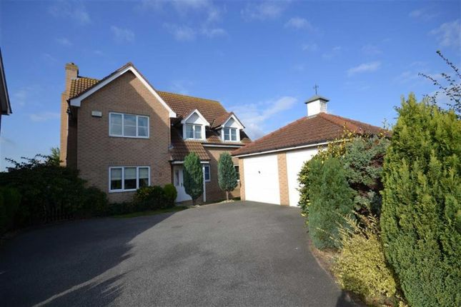 Thumbnail Detached house for sale in Blyth Way, Laceby