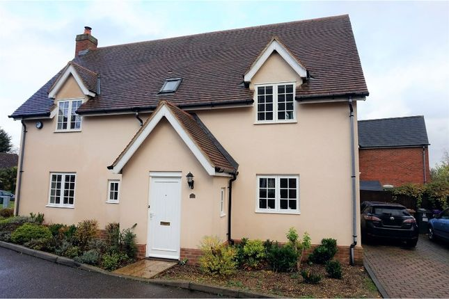 Thumbnail Detached house for sale in Forge End, Hitchin