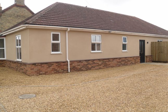 Thumbnail Bungalow for sale in Bassenhally Road, Whittlesey