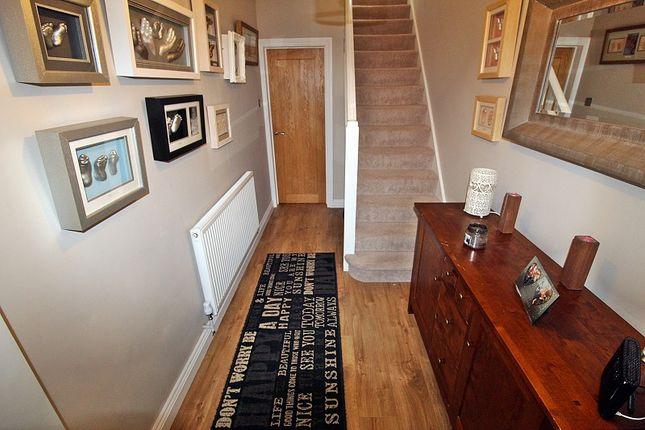 Hallway of South Drive, Llantrisant, Pontyclun, Rhondda, Cynon, Taff. CF72
