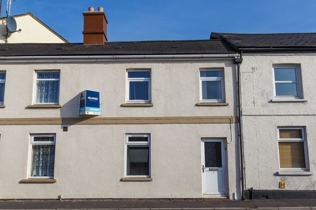 Thumbnail Terraced house to rent in Charlotte Street, Crediton