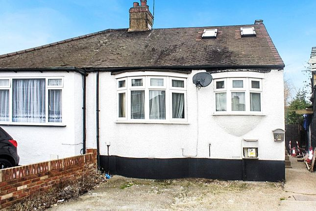 Thumbnail Bungalow for sale in Sydney Road, Abbeywood, London