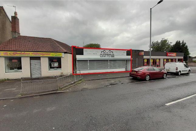 Thumbnail Retail premises to let in 6 Main Street, Baillieston, Glasgow, City Of Glasgow