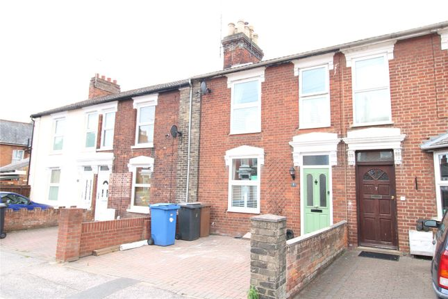Thumbnail Terraced house to rent in Warwick Road, Ipswich