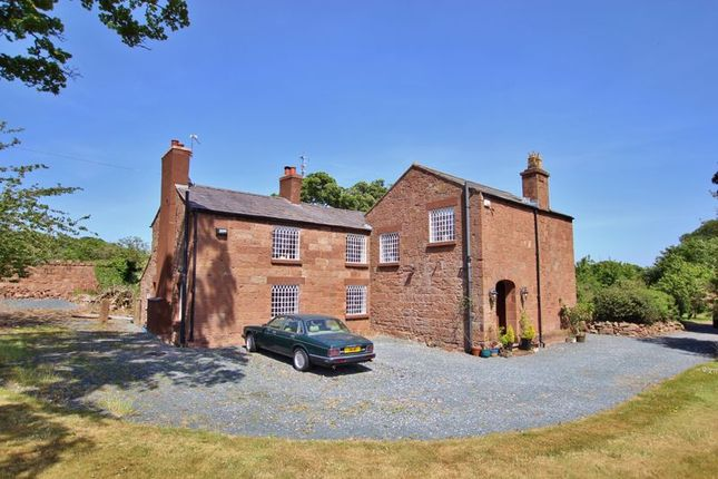 Thumbnail Detached house for sale in Thornton Common Road, Thornton Hough, Wirral